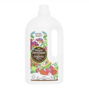 Natural Grower | Natural Liquid Fertiliser 2 litre bottle