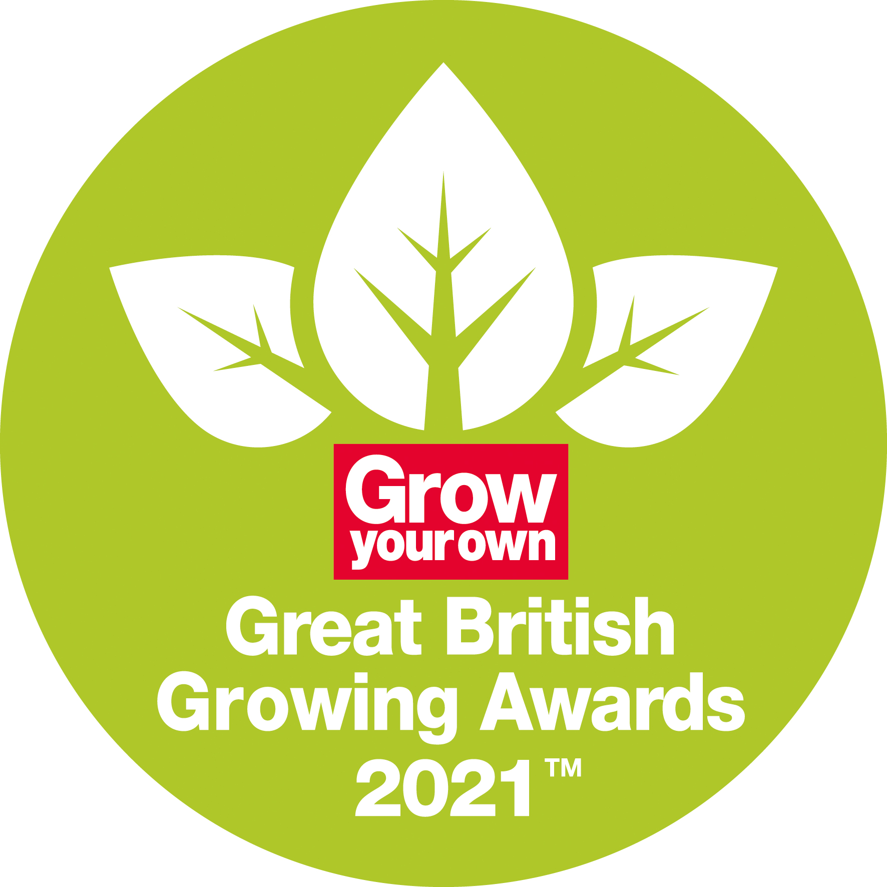 Great British Growing Awards 2021