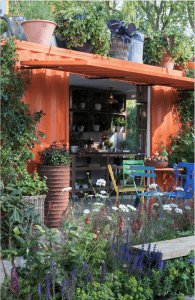 container shed design